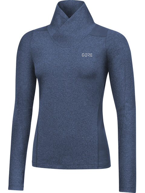 GORE WEAR R3 Thermo Long Sleeve Shirt Women deep water blue